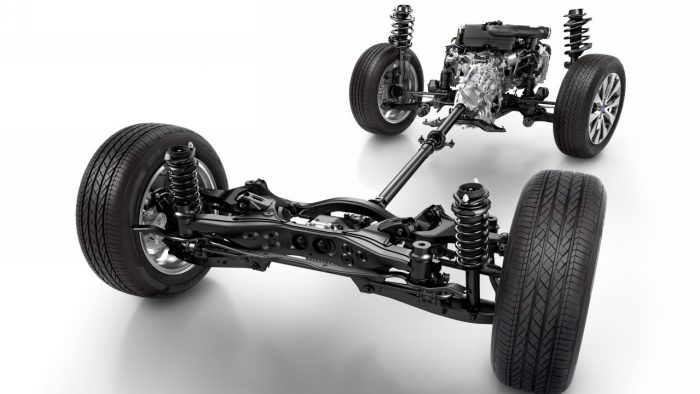 Subaru Symmetrical All-Wheel Drive (S-AWD)