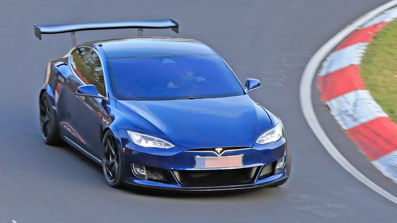 Tesla Model S Plaid – Prototipo Nurburgring