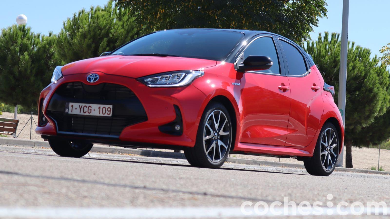 Toyota Yaris Hybrid 2021 prueba – 11