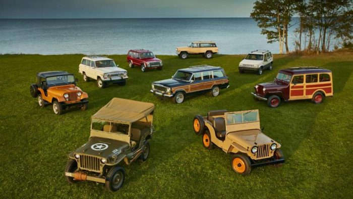Modelos de Jeep