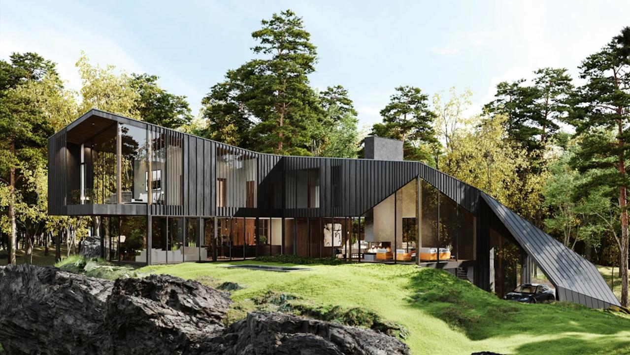Casa diseñada por Aston Martin