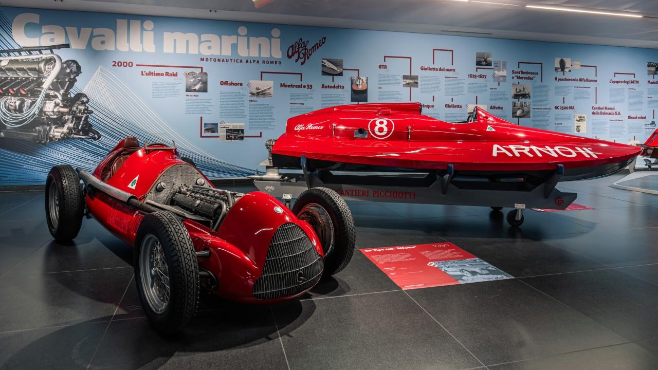 Barcos Alfa Romeo Exposicion Cavalli Marini