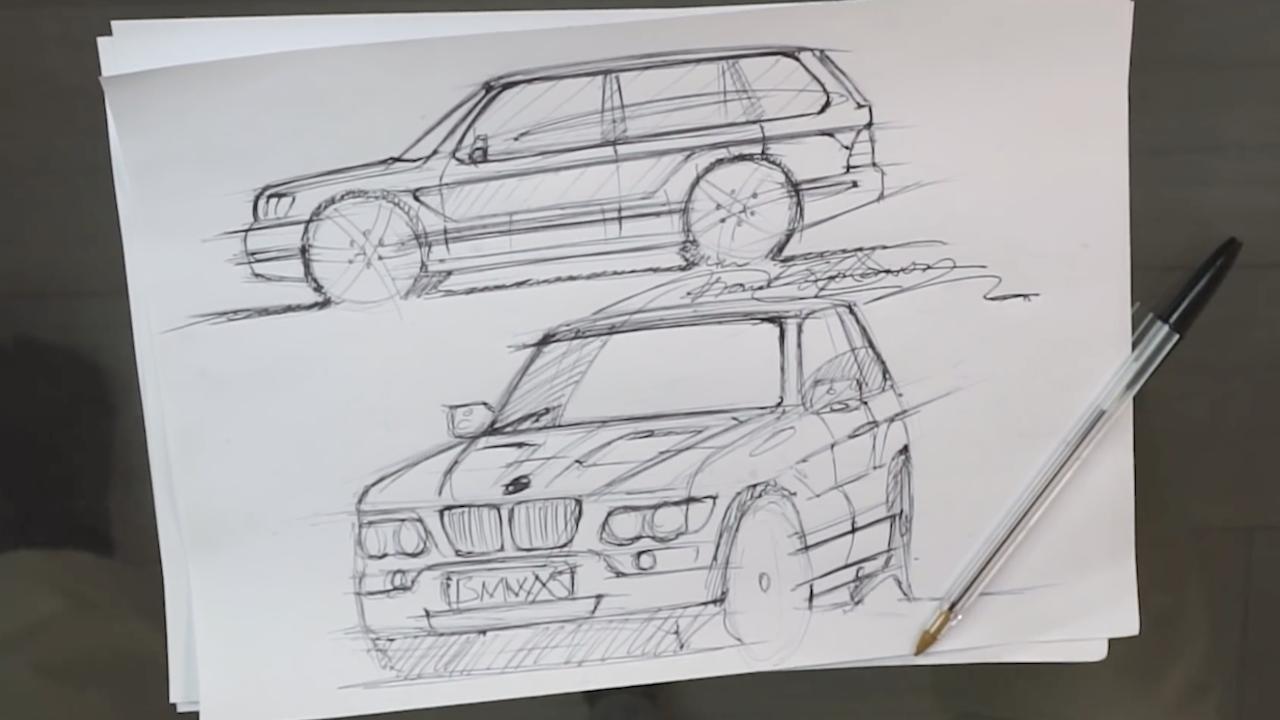 Diseño BMW X5 1999