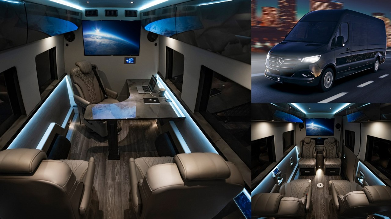 Inkas VIP Mobile Office Mercedes-Benz Sprinter (0)