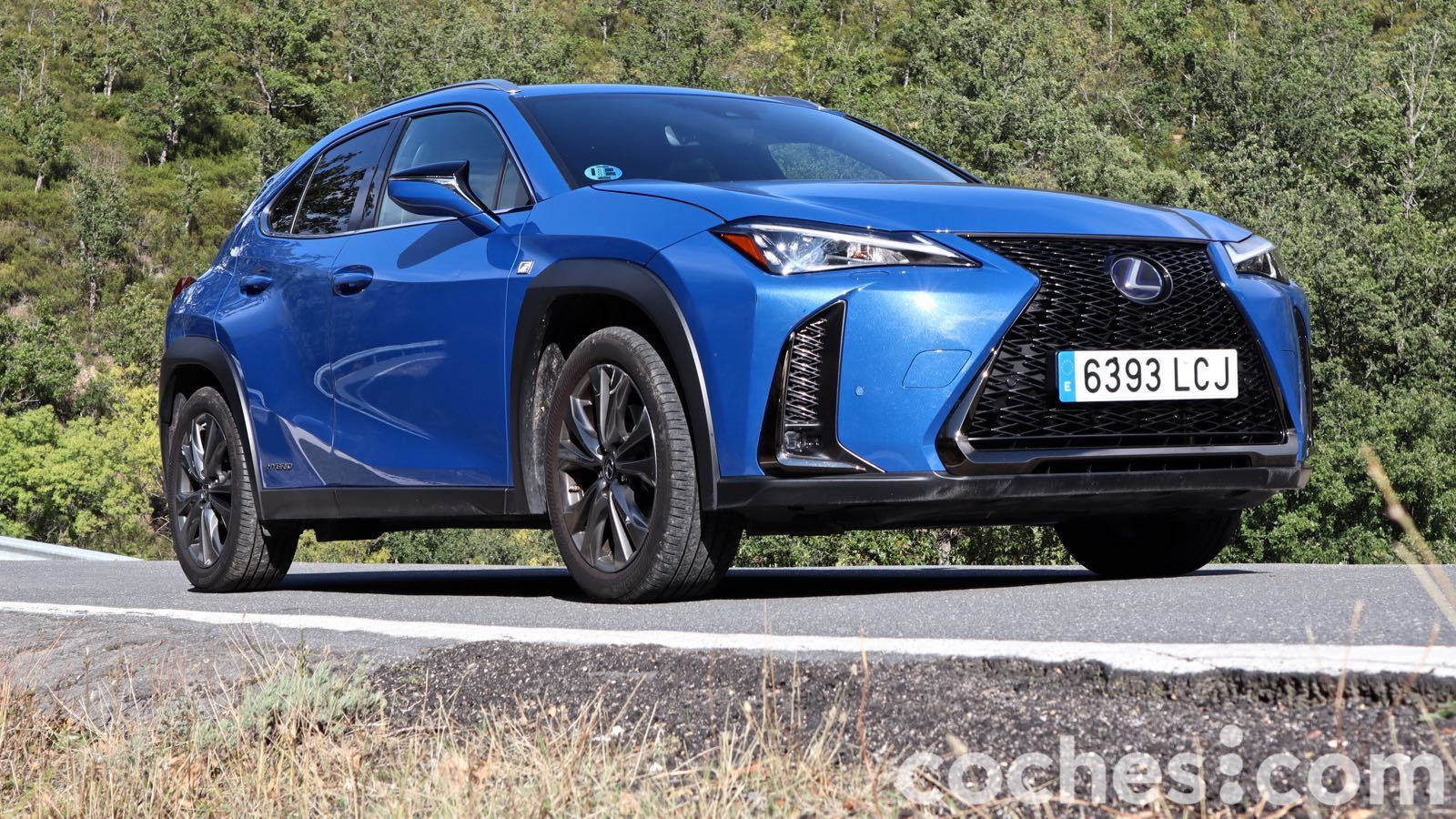 Lexus UX prueba – 13