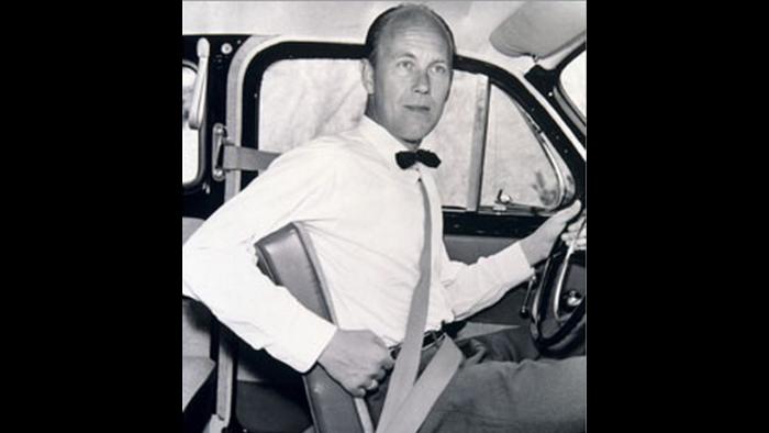 Nils Bohlin, responsable del primer coche con cinturón de seguridad