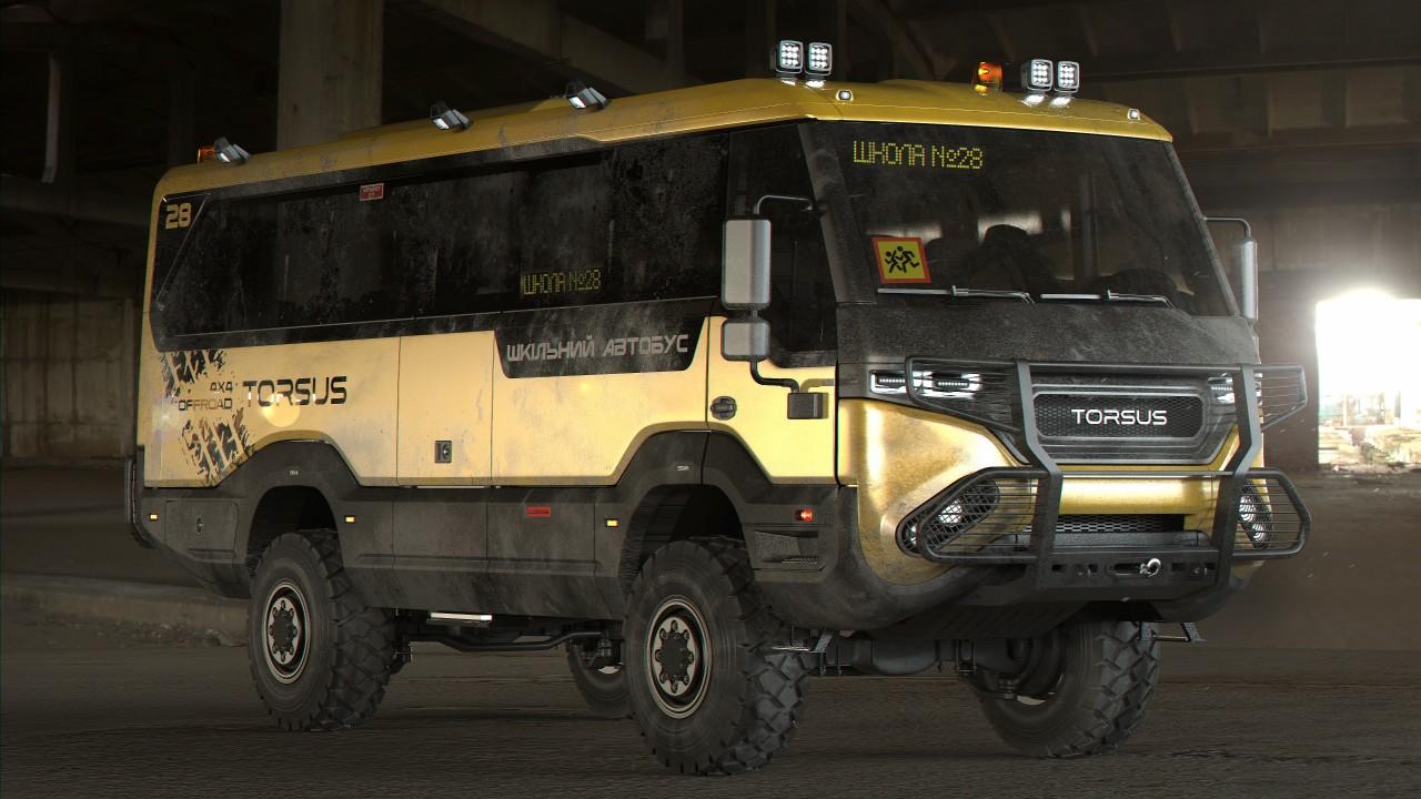 Torsus Praetorian Autobus Escolar (1)