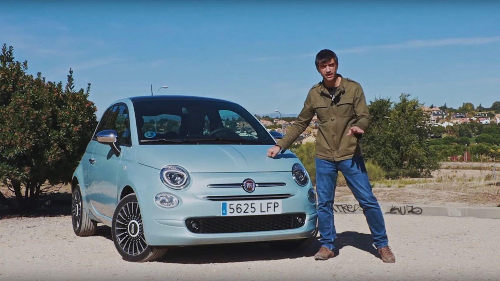 Fiat 500 Hybrid videoprueba – 1