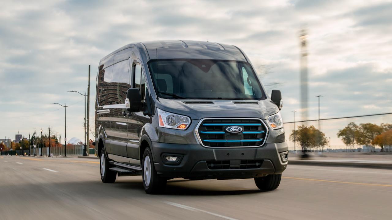 Ford E-Transit 2021 – 2