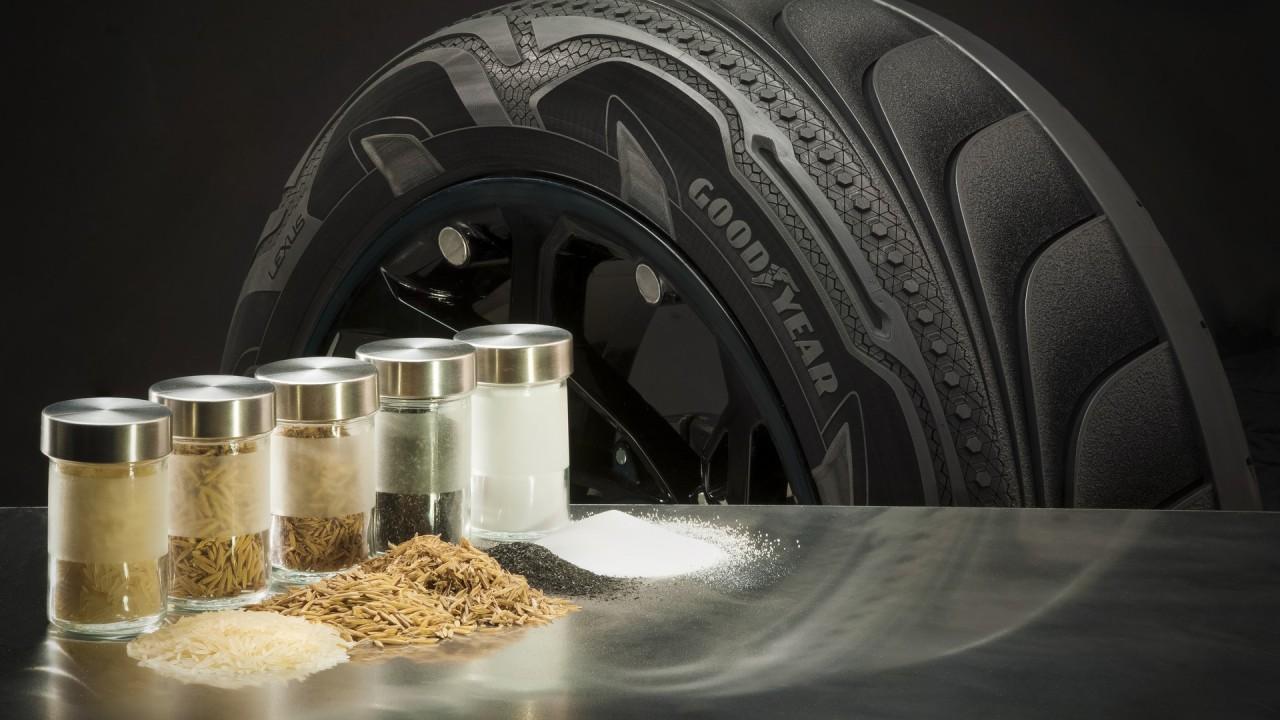 Goodyear neumaticos con silice de ceniza de cascara de arroz (4)