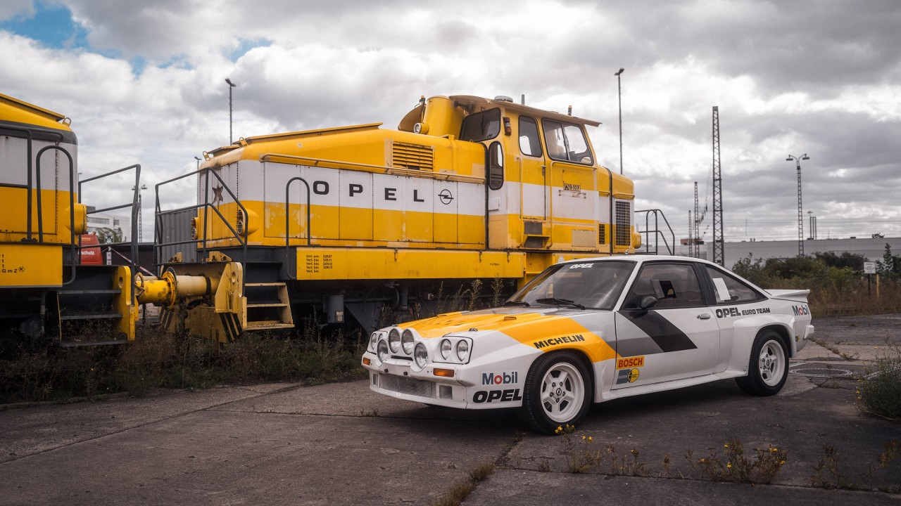 Opel Locomotora Tren (9)