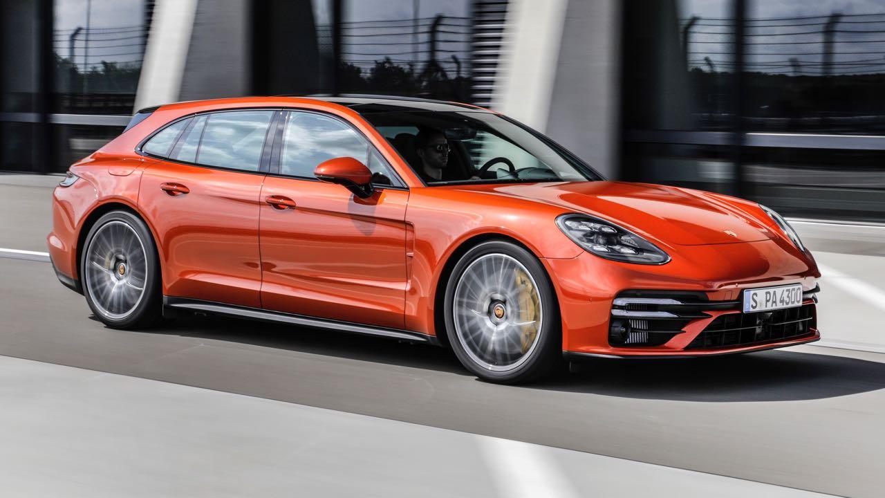 Porsche Panamera Sport Tourer Turbo S 2021 – 4