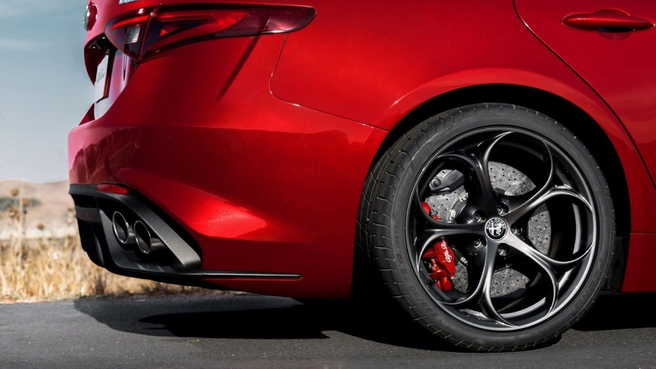 brake-by-wire-Alfa Romeo Giulia QV