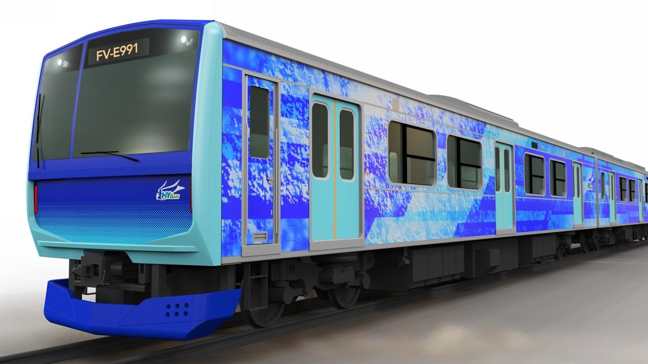 tren hidrogeno Toyota JREast Hitachi (1)