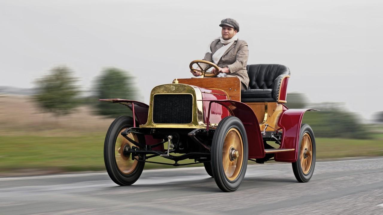 1905 Laurin & Klement Voiturette A – Primer Skoda (1)
