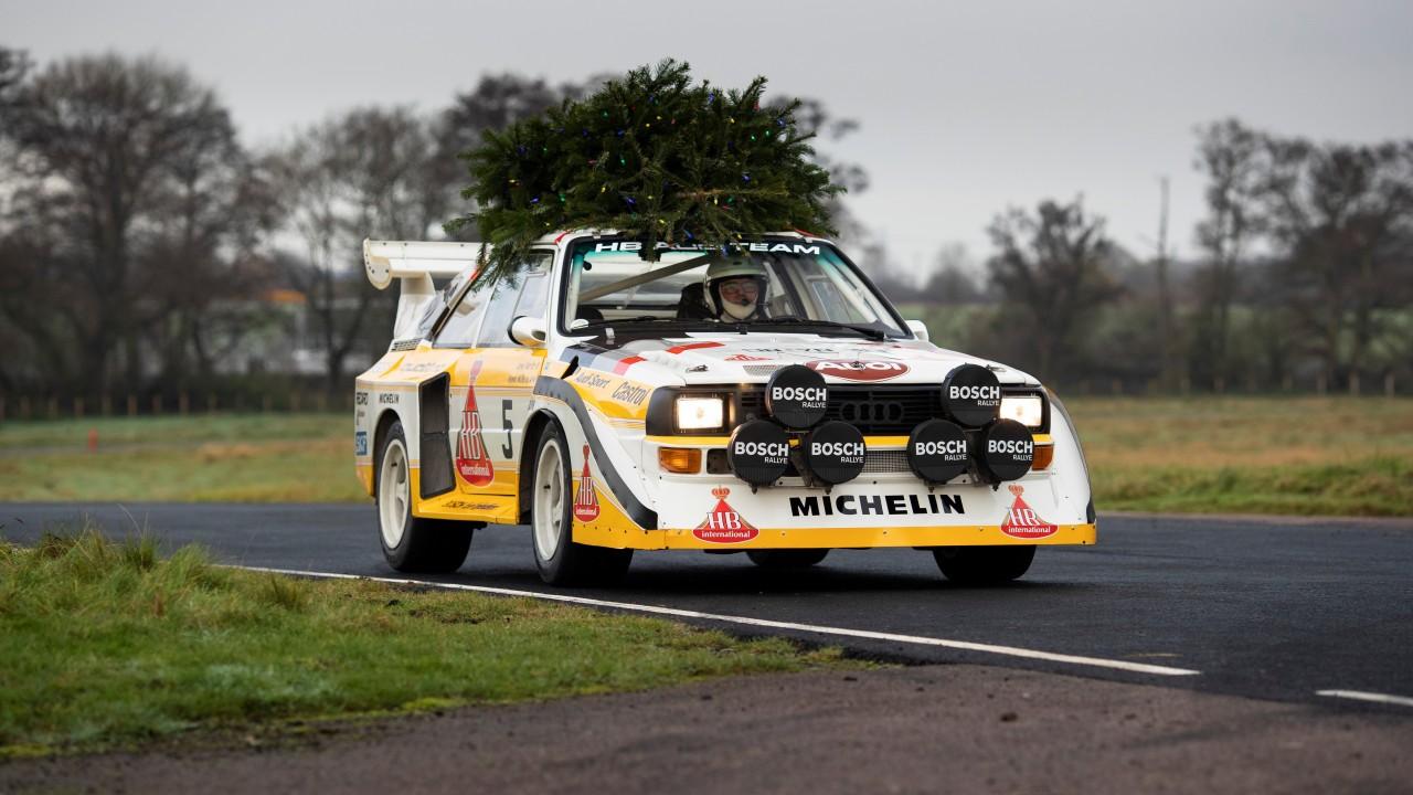 1985 Audi Sport Quattro S1 E2 Felicitacion Navidad