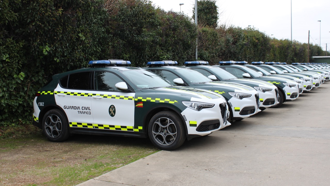 Alfa Romeo Stelvio Guardia Civil – 1