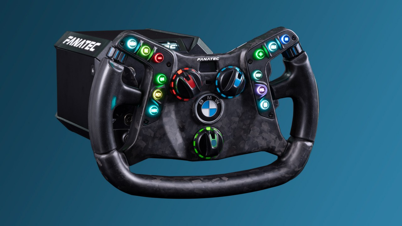 Fanatec Podium Steering Wheel BMW M4 GT3 (25)
