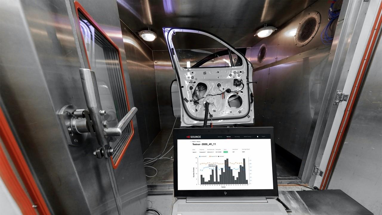 Porsche Sounce Inteligencia Artificial Deteccion de Ruido