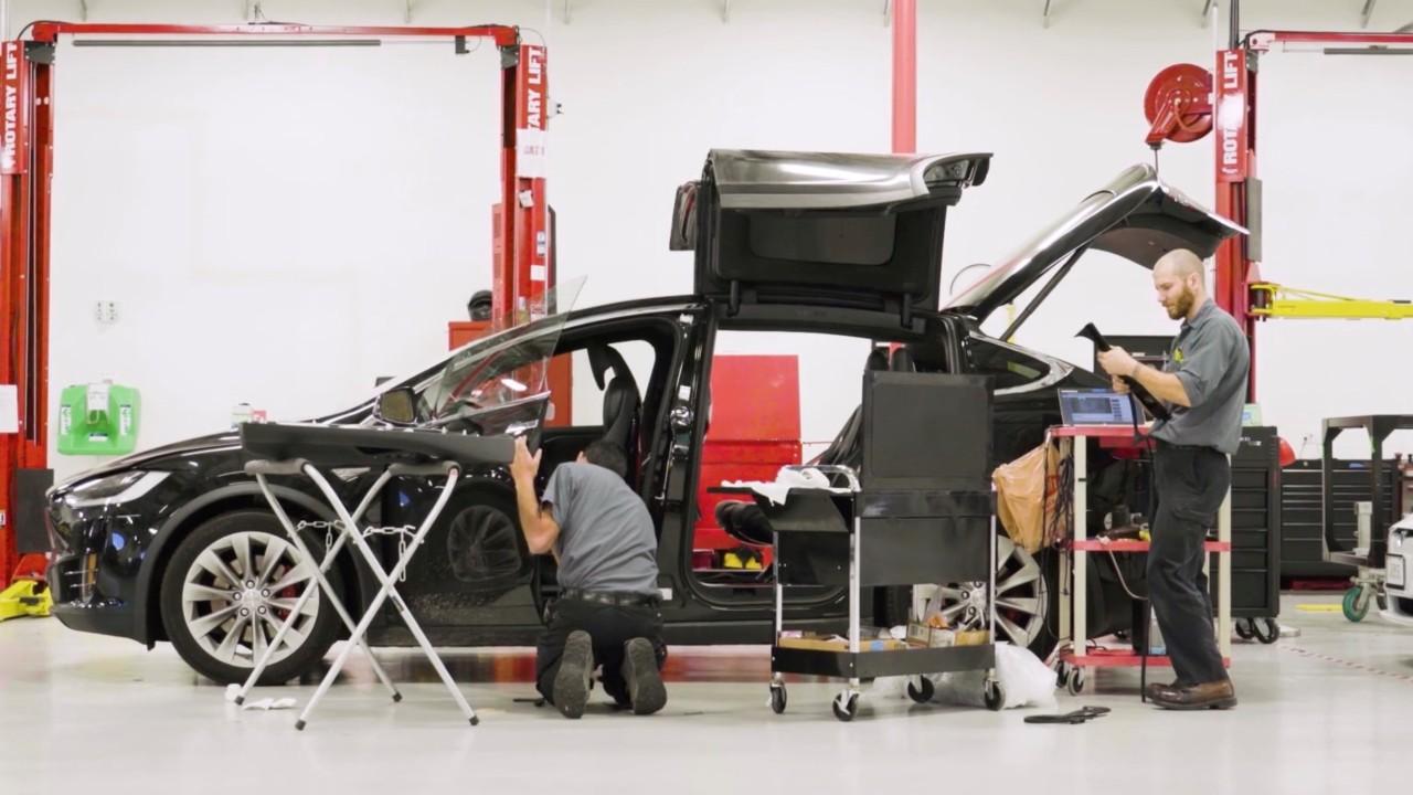 Taller coche electrico – Tesla