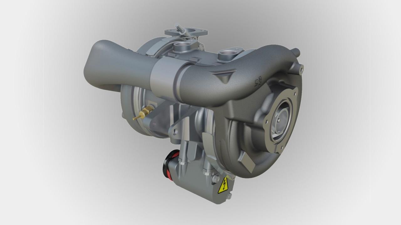 Turbocompresor Garrett Coches de Pila de Combustible de Hidrógeno (2)
