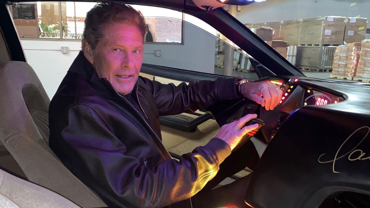 David Hasselhoff KTT Pontiac Trans AM – 1