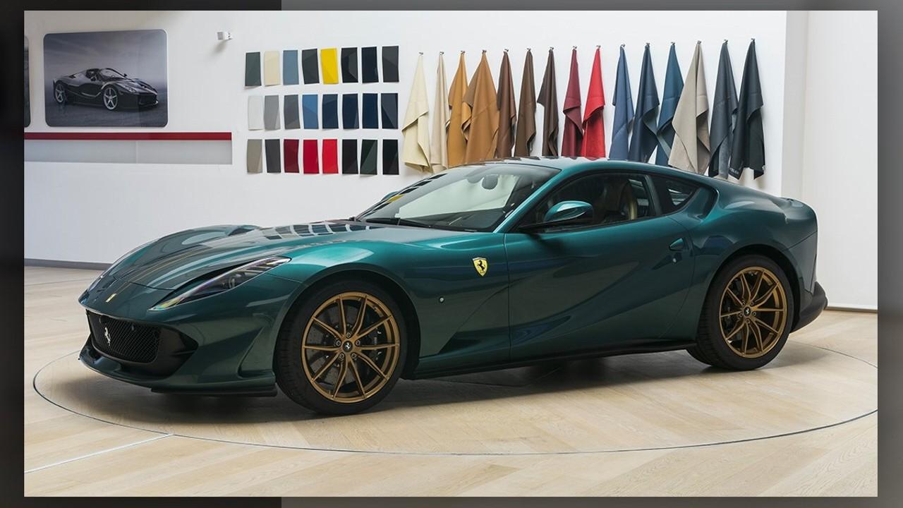 Ferrari 812 Superfast Tailor Made Bespoke Green (1)