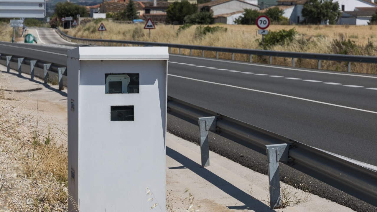 Road Speed Control Radar in Barcelona Province, Spain
