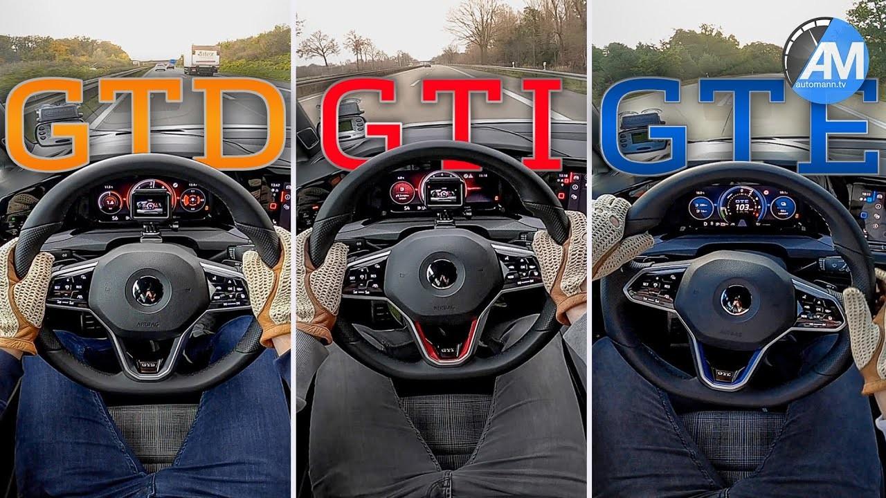Volkswagen Golf GTI vs GTD vs GTE (3)