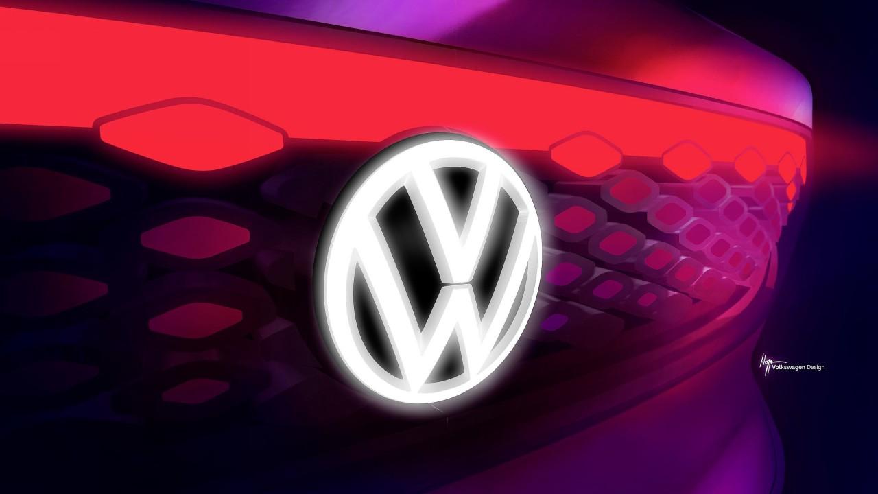 Volkswagen ID Roomzz Logotipo
