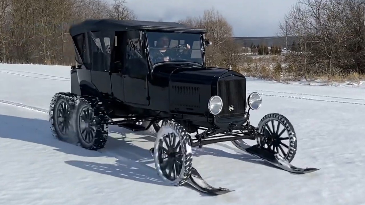 1926 Ford Model T Snowmobile (1)