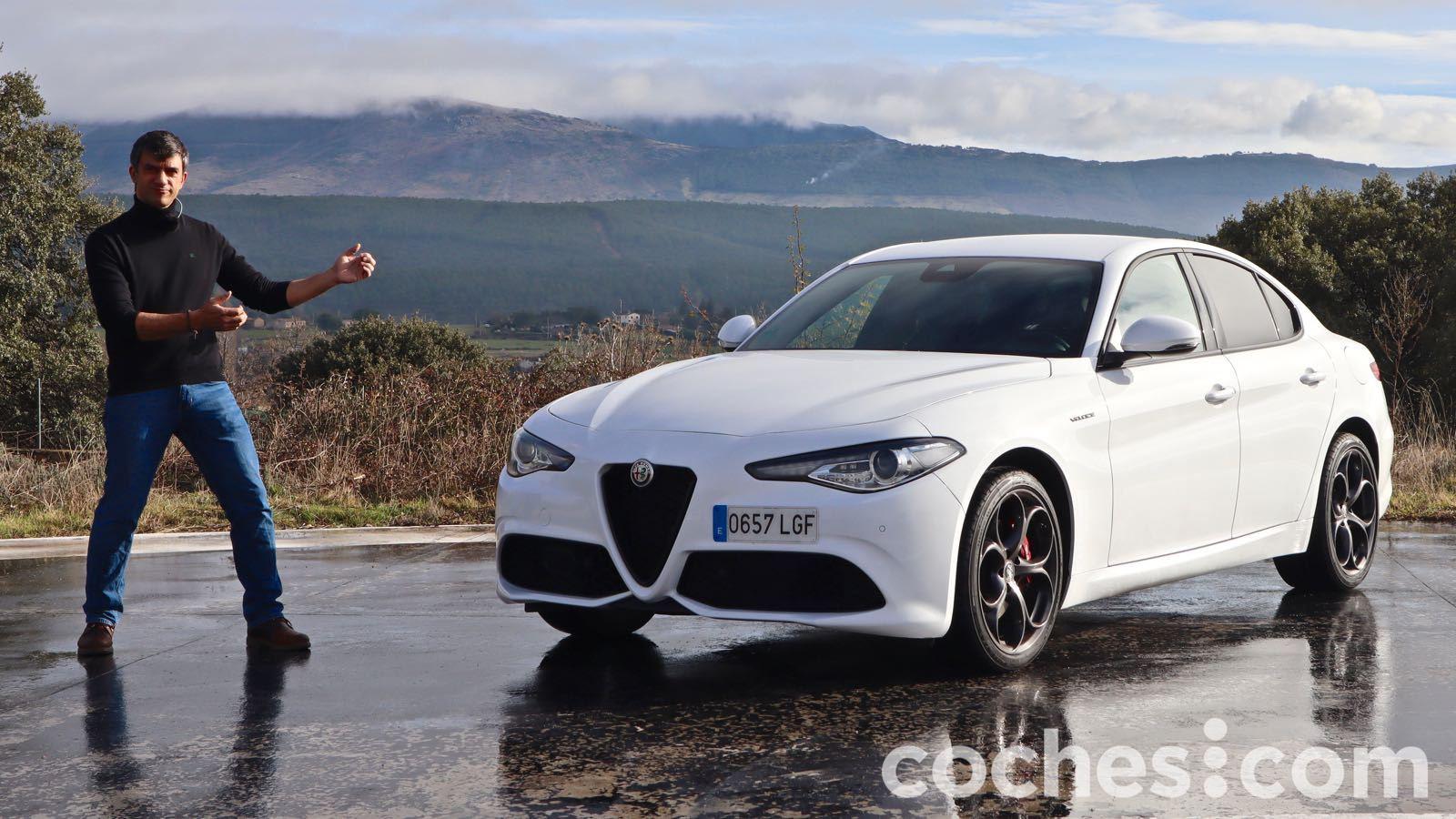 Alfa Romeo Giulia videoprueba