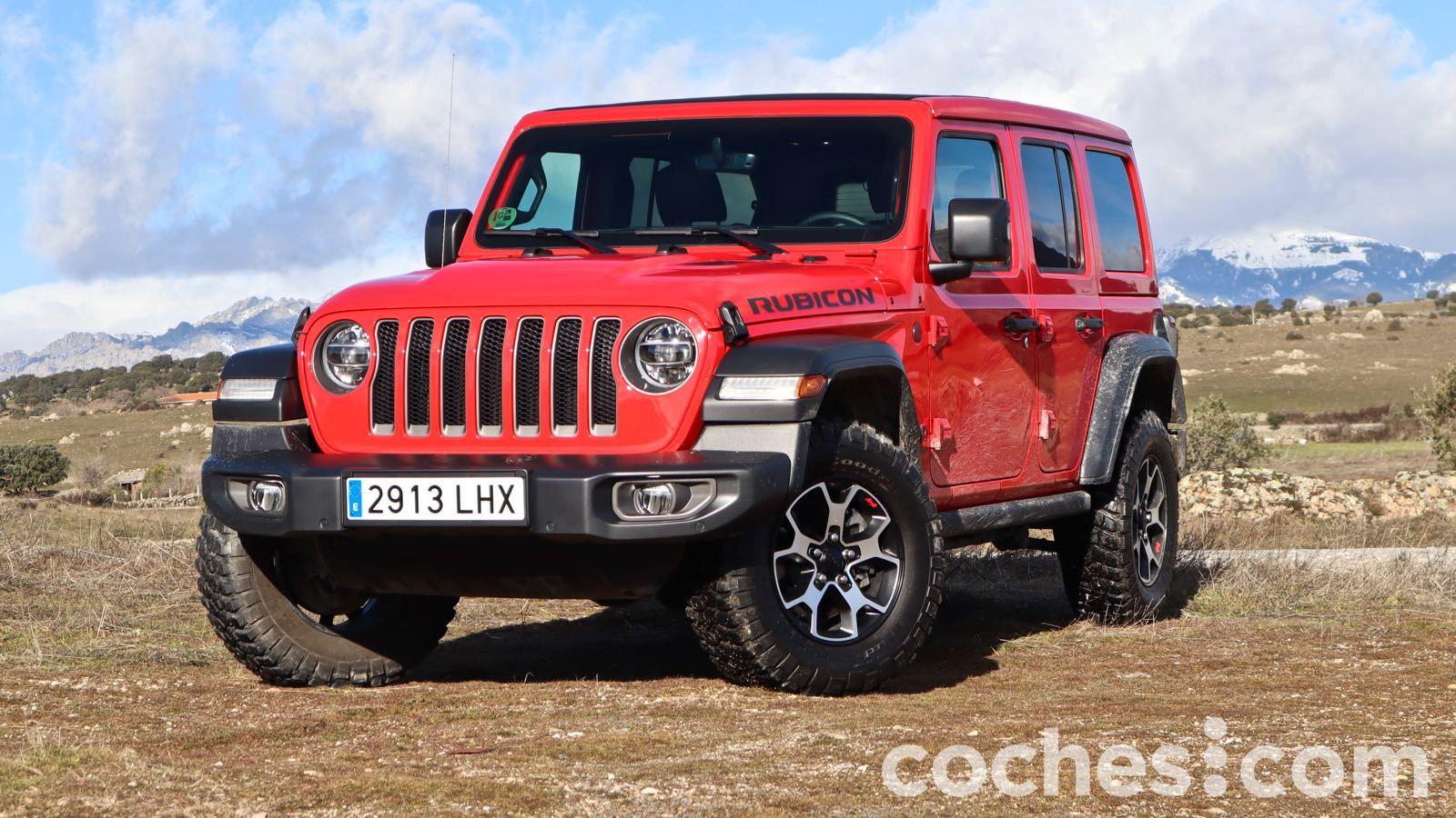 Jeep Wrangler Rubicon prueba – 12