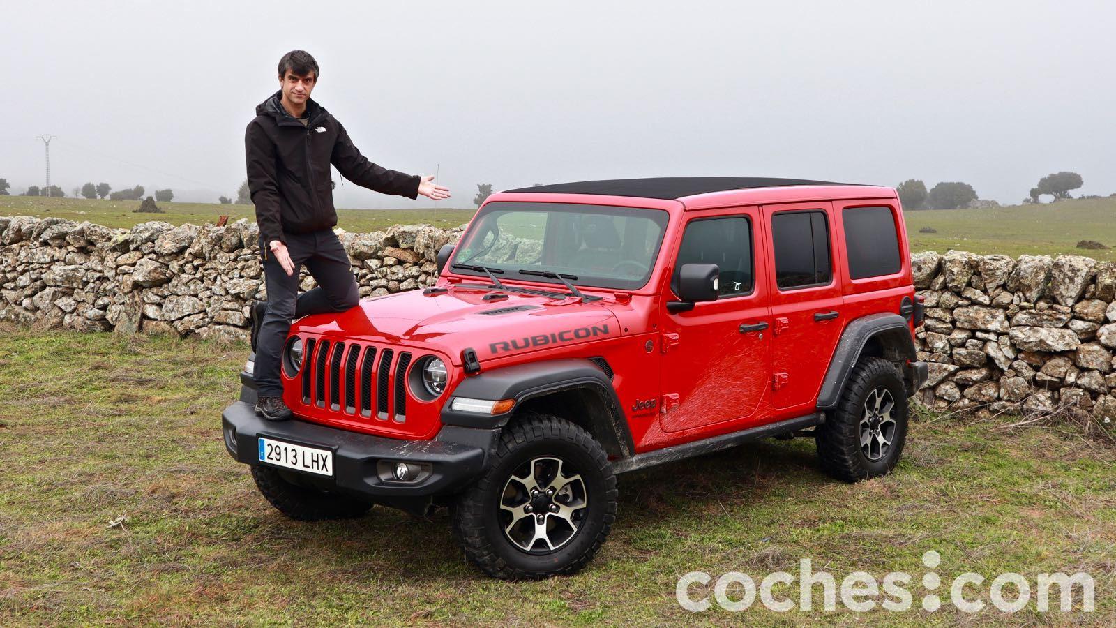 Jeep Wrangler Rubicon videoprueba