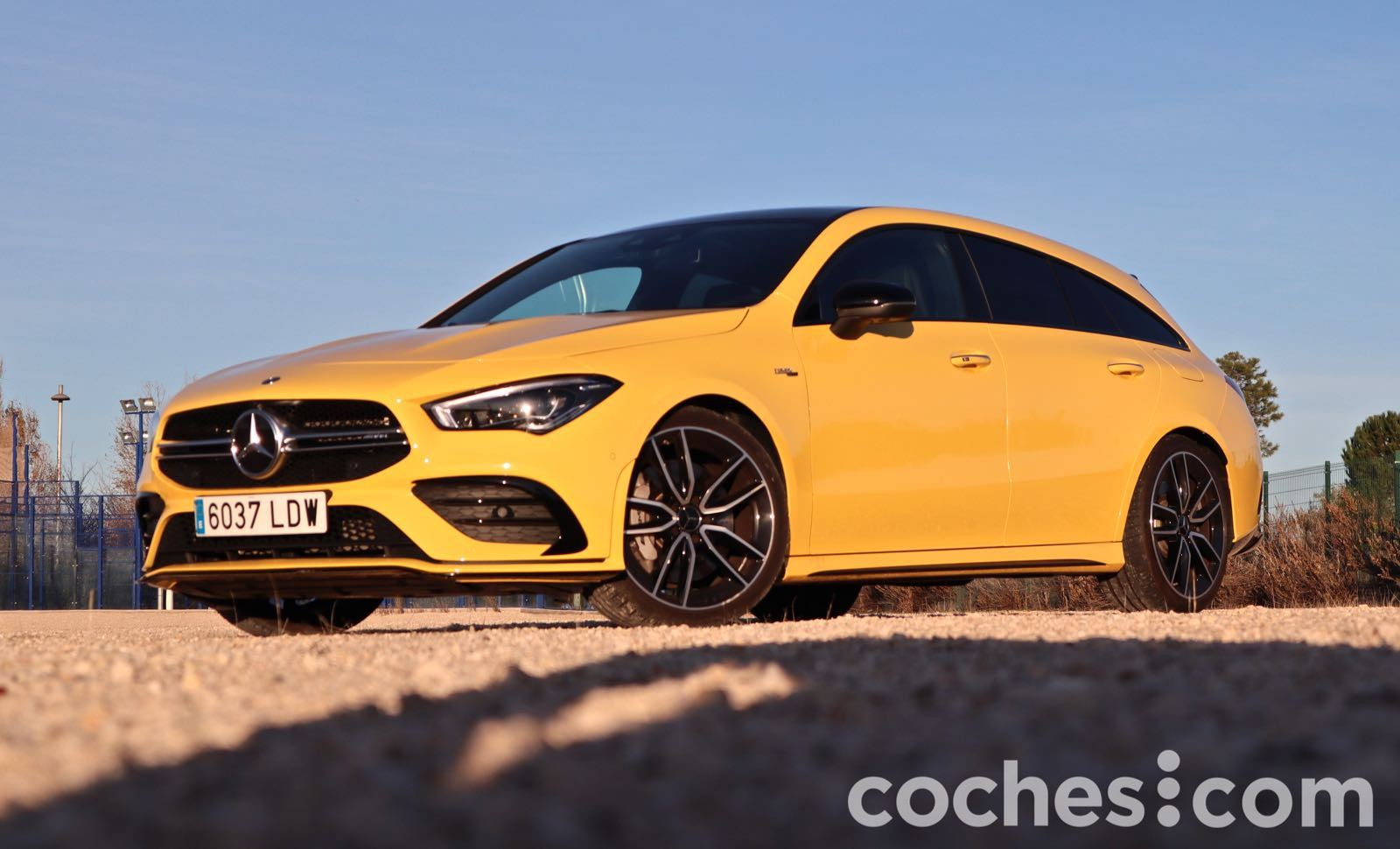 Mercedes-AMG CLA 35 Shooting Brake prueba – 11