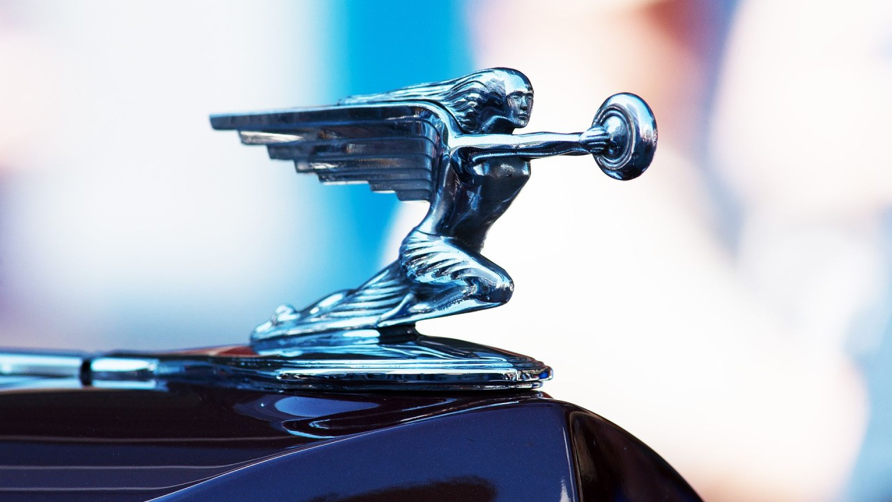 Packard Adorno Capo Goddess of Speed