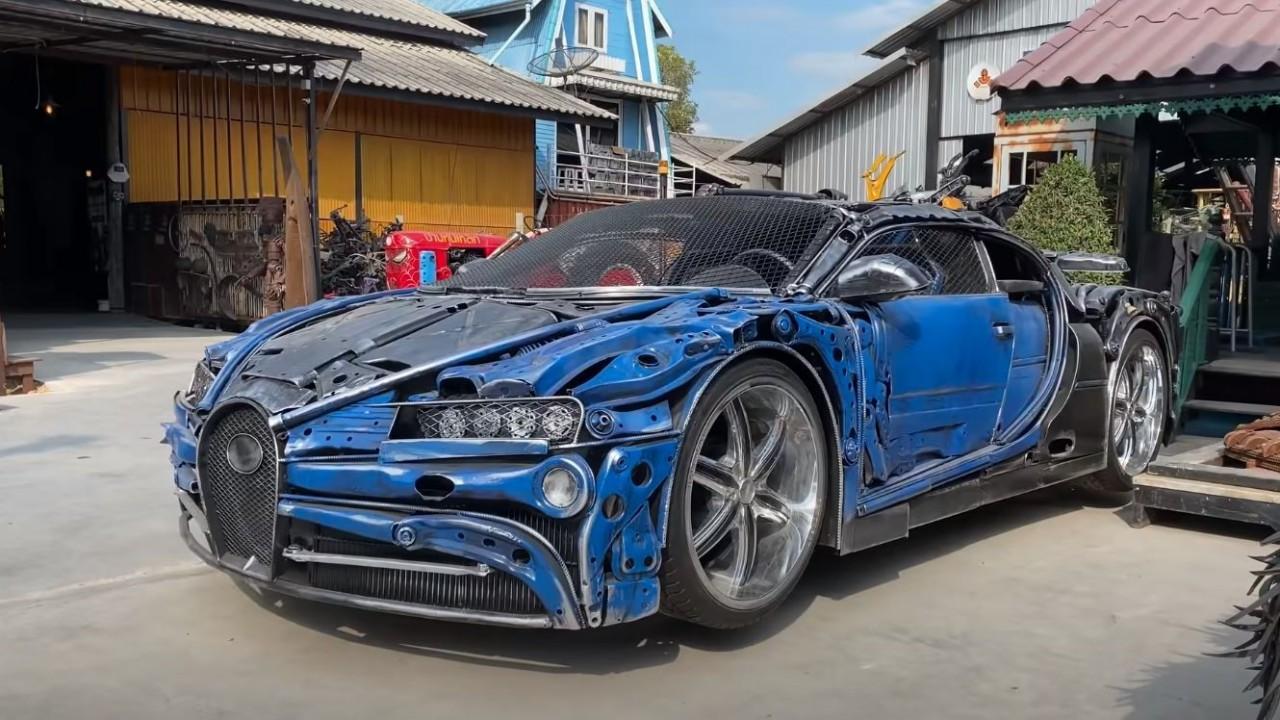 Replica Bugatti Chiron Chatarra Tailandia (2)
