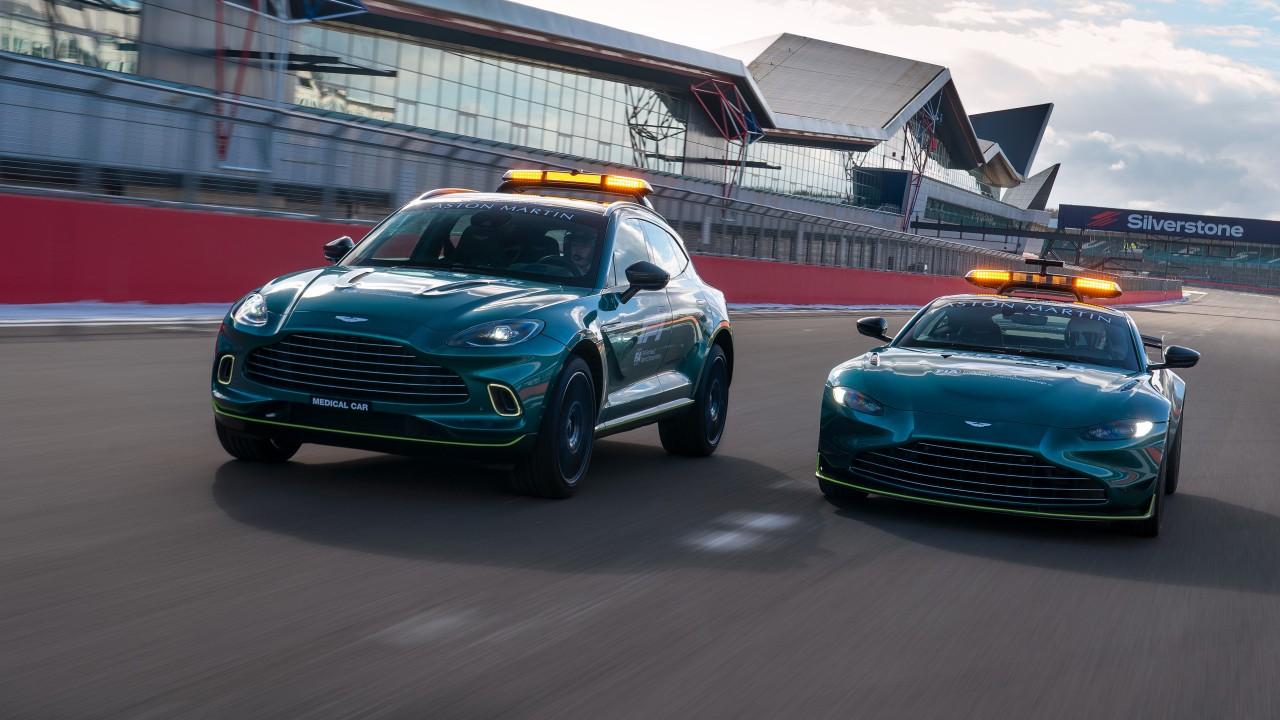Aston Martin Vantage y DBX F1 2021 (2)