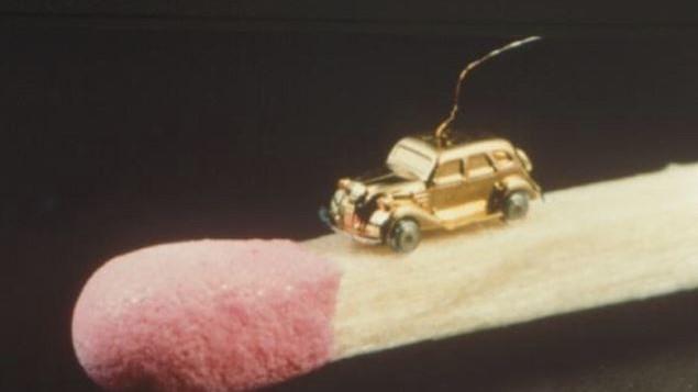 Coche motorizado mas pequeno del mundo Toyota AA Sedan 1936 Nippondenso (1)