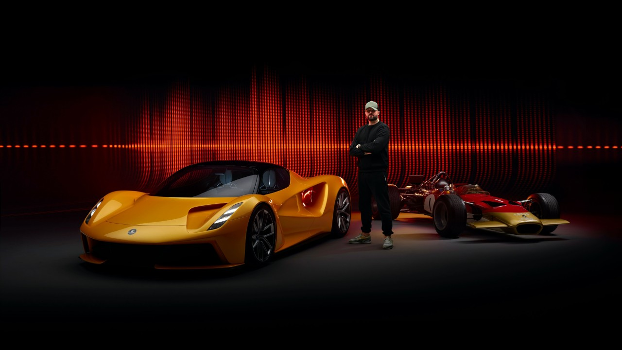 Lotus Evija, Lotus Type 49 y Patrick Patrikios