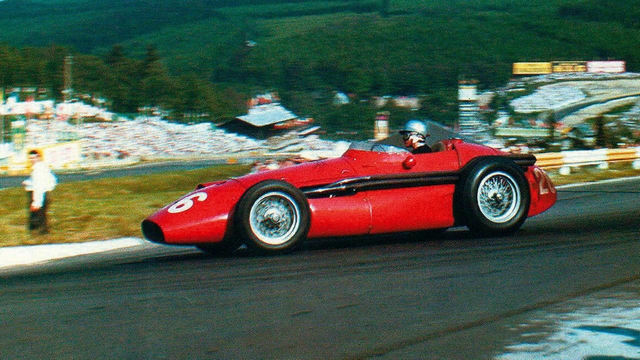 Maria Teresa de Filippis Formula 1 Maserati 250F 1958 (2)