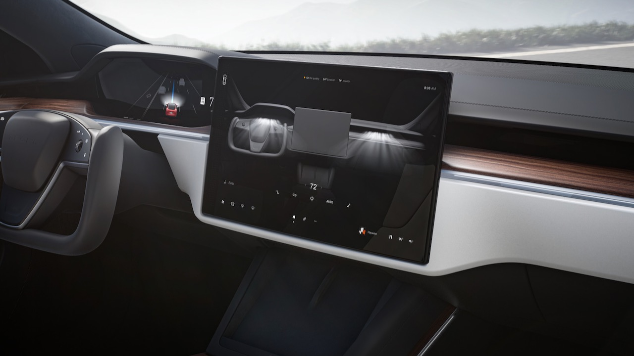 Tesla Model S pantalla – 1