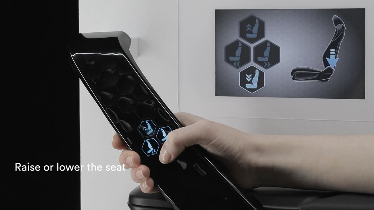 botones 3d en las puertas
