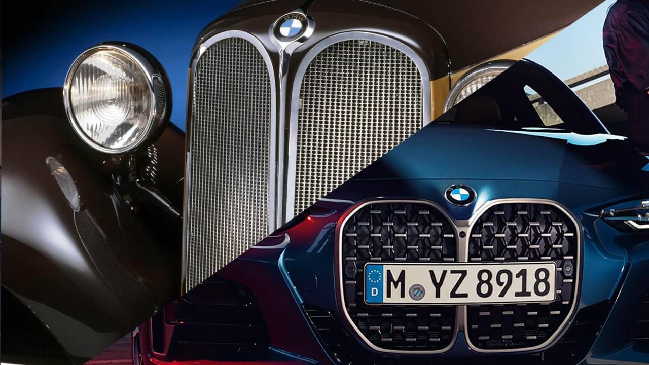 BMW Parrilla Evolucion