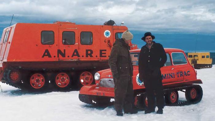 Mini-Trac en la Antártida