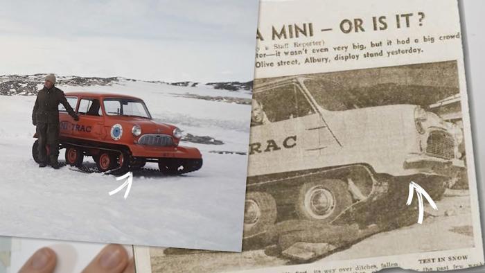 Comparativa versiones Mini-Trac
