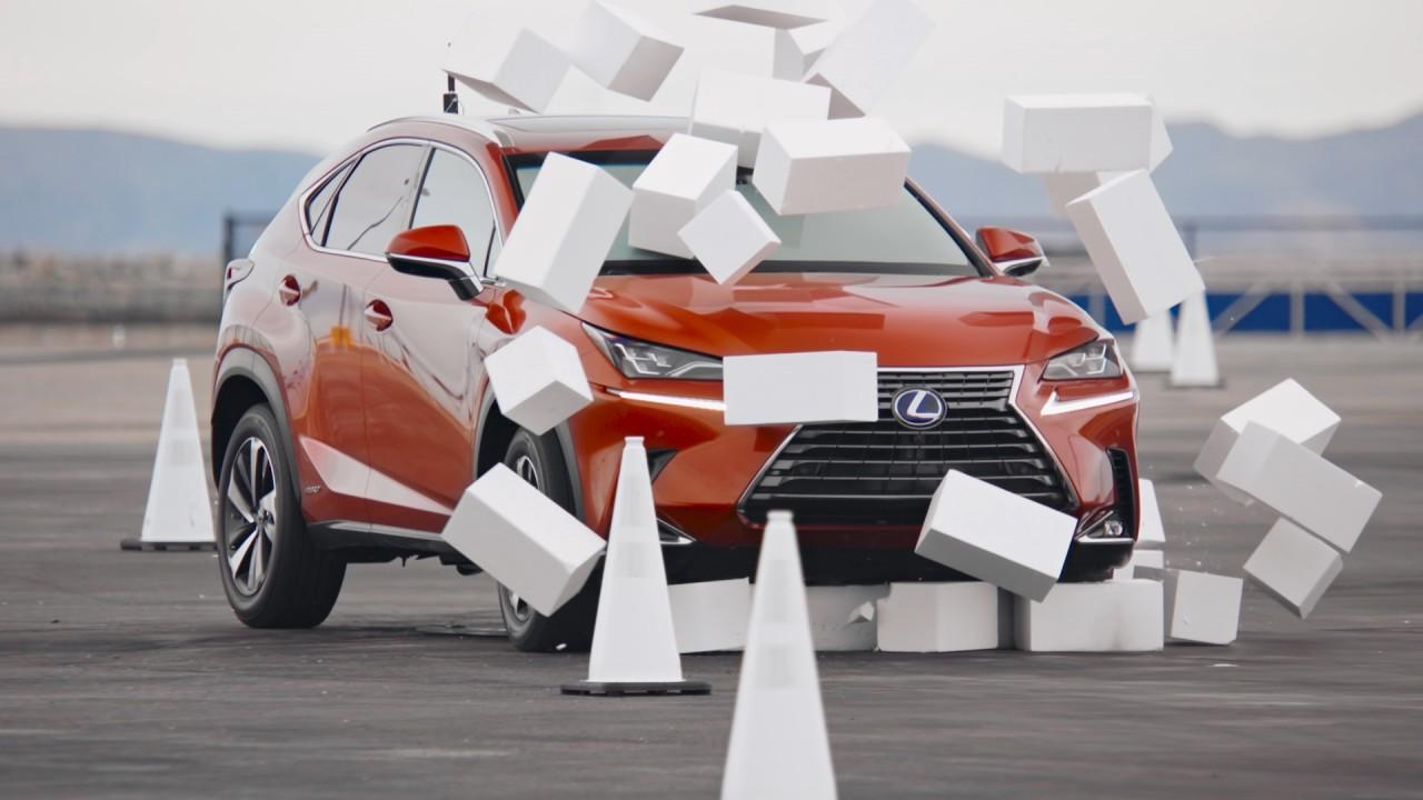 Lexus NX Conduccion a Ciegas (2)