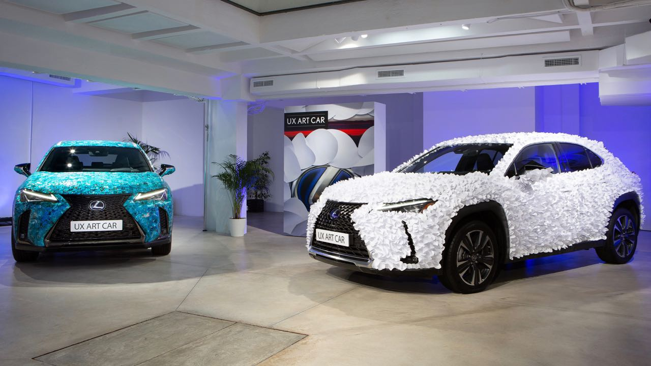 Lexus UX Art Car – 3