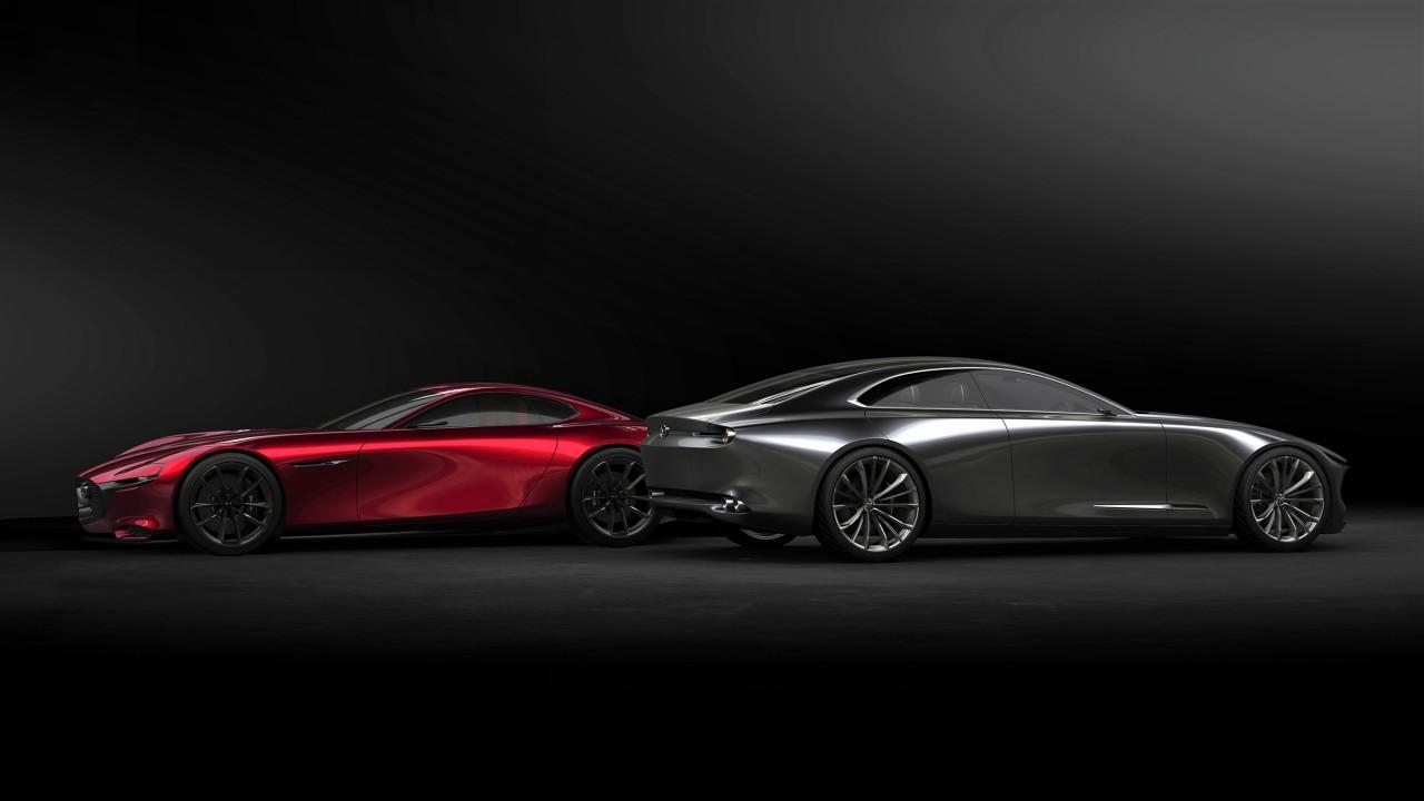 Mazda RX-Vision y Mazda Vision Coupe 2017