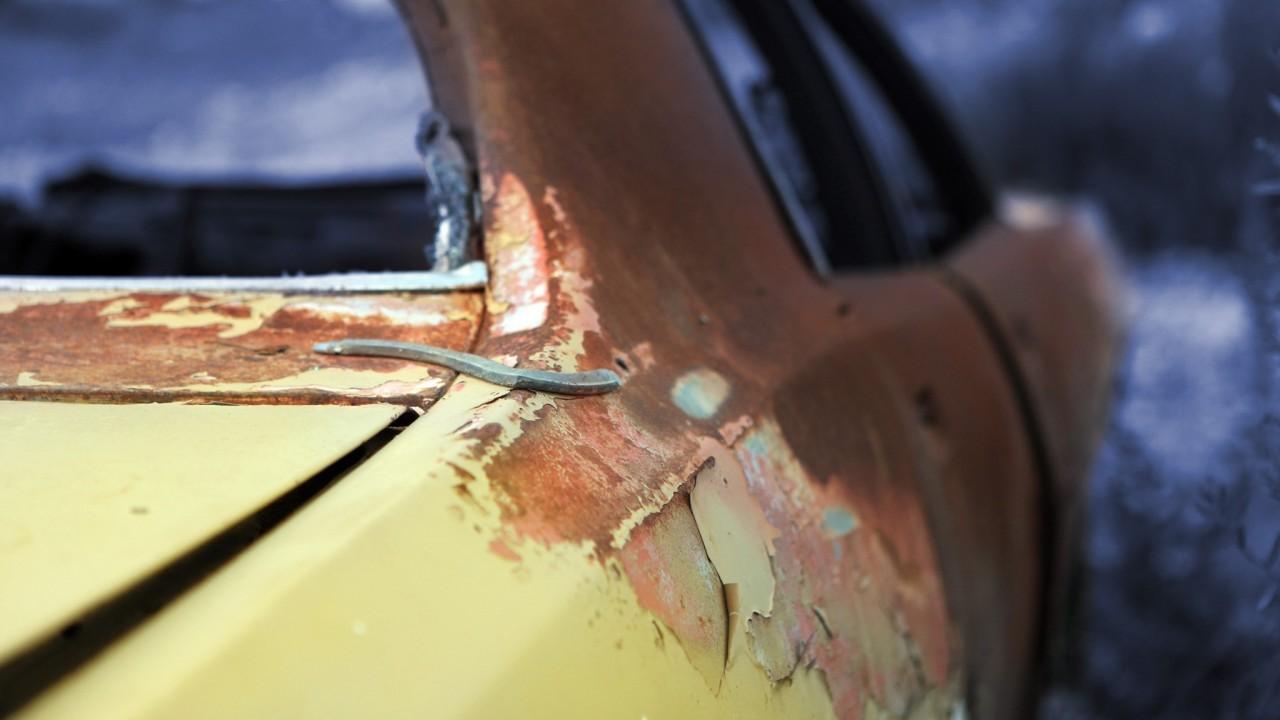 Pintura coche-Oxido